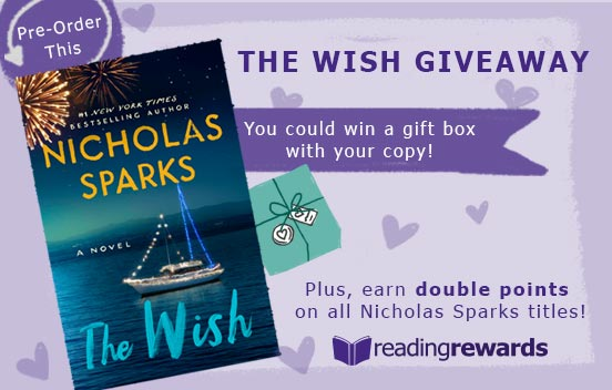 ThriftBooks The Wish Giveaway & Double Points