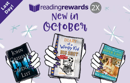 ThriftBooks Last Day! New in October