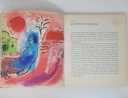 image of chapter one art in Chagall book