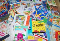 Kid's Wholesale Books visual display One