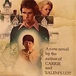 closeup of 1977 The Shining cover art